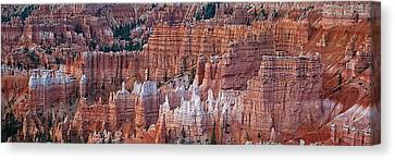 Canvas Print - Bryce Canyon Hoodoos by R J Ruppenthal