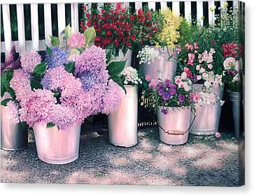 Buckets Of Joy Canvas Print