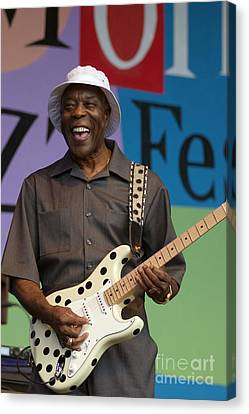 Buddy Guy Smiling Canvas Print by Craig Lovell