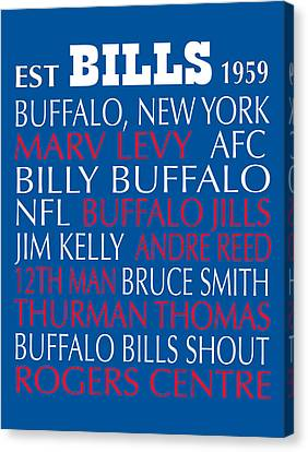 Buffalo Bills Canvas Print