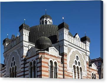 Bulgaria, Sofia, Sofia Synagogue, Built Canvas Print by Walter Bibikow