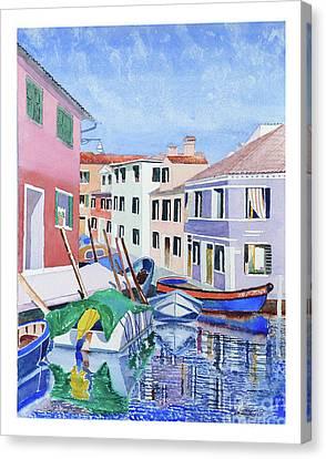 Burano Venice Canvas Print