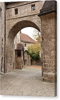 Burghausen Castle Burghausen, Germany Canvas Print by Michael Defreitas