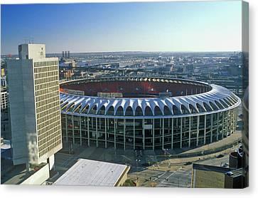 Busch Stadium, Downtown St. Louis, Mo Canvas Print