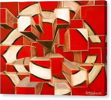 Mlb Canvas Print - C-squared by Josh Hertzenberg