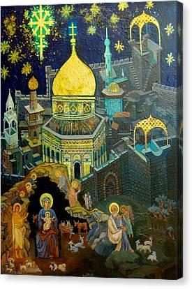 C03  The Nativity  Jerusalem Canvas Print