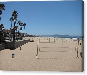 Ca Beach - 12121 Canvas Print by DC Photographer