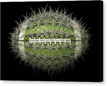Cactus Football Canvas Print
