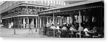 Cafe Du Monde French Quarter New Canvas Print by Panoramic Images