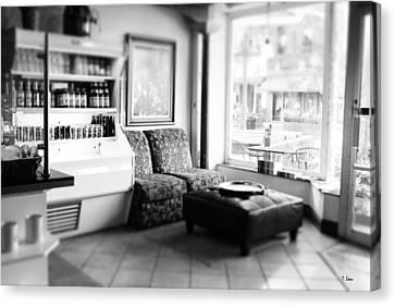Cafe Canvas Print by Thomas Leon