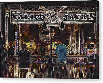 Calico Jacks Canvas Print