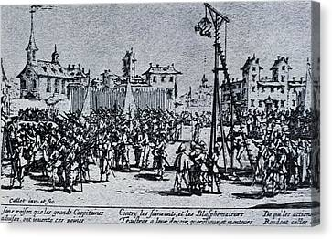Localities Canvas Print - Callot, Jacques 1592-1635. The Great by Everett