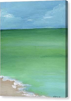 Calm Sea Canvas Print by Anne Seay