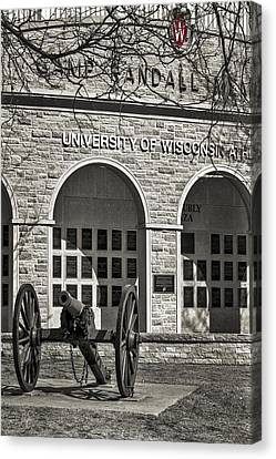 Camp Randall - Madison Canvas Print by Steven Ralser