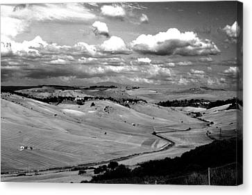 Country Of Tarquinia Canvas Print