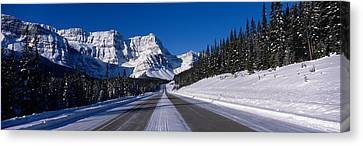 Canada, Alberta, Banff National Park Canvas Print by Panoramic Images