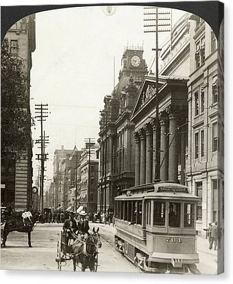 Canada Montreal, 1908 Canvas Print by Granger