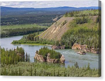 Canada, Yukon Territory Canvas Print