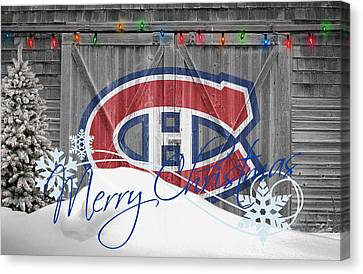 Canadiens Canvas Print by Joe Hamilton