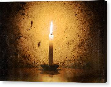 Candle Canvas Print