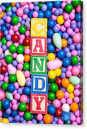 Candy Canvas Print by Edward Fielding