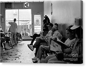 Canton Barber Shop 1997 Canvas Print