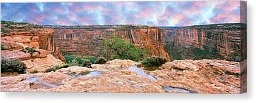 Canyon De Chelly National Monument Canvas Print by Panoramic Images