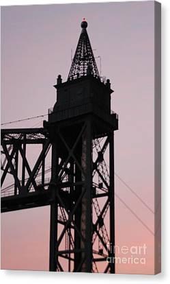 Cape Cod Canal Train Bridge Canvas Print