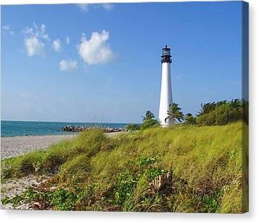 Cape Florida Lighthouse Canvas Print