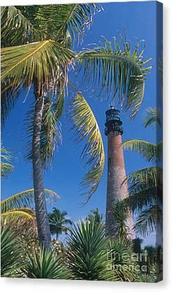 Cape Florida Lighthouse, Fl Canvas Print