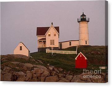 Cape Neddick Lighthouse Canvas Print by Bruce Roberts