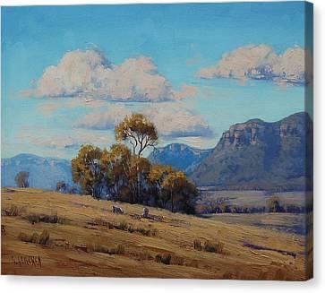 Capertee Valley Australia Canvas Print by Graham Gercken