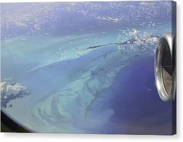 Caribbean Aerial 2 Canvas Print
