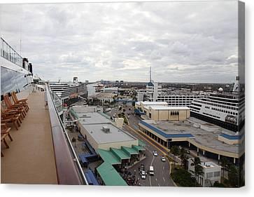 Caribbean Cruise - On Board Ship - 121218 Canvas Print