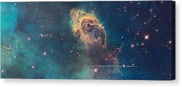 Carina Nebula Canvas Print by Nasa