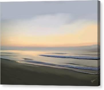 Carolina Morning Glory Canvas Print