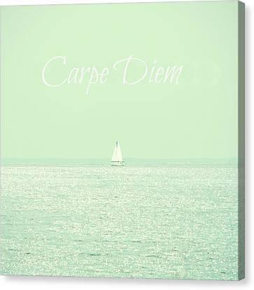 Carpe Diem Canvas Print by Robin Dickinson