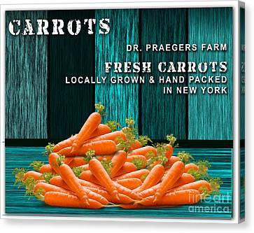 Carrot Farm Canvas Print by Marvin Blaine