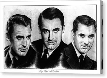 Cary Grant Canvas Print by Andrew Read