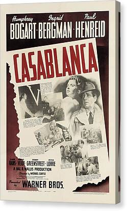 Casablanca Canvas Print by Georgia Fowler