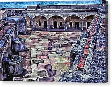 Castillo De San Cristobal Canvas Print by Thomas R Fletcher