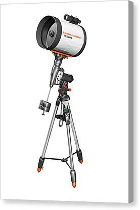 Corrected Canvas Print - Catadioptric Telescope by Carlos Clarivan