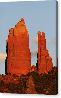 Cathedral Rock Canvas Print by Jose More