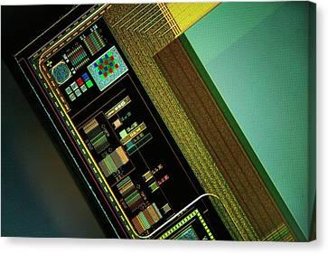 Ccd Camera Sensor Canvas Print