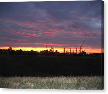 Cedar Point - 121212 Canvas Print by DC Photographer