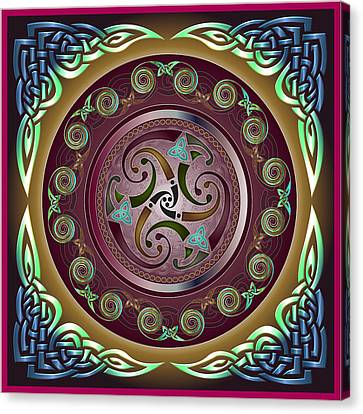 Celtic Pattern Canvas Print