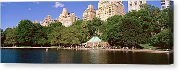 Central Park, Nyc, New York City, New Canvas Print