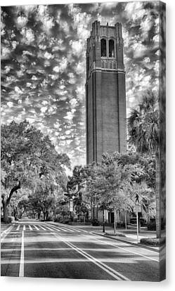 Canvas Print featuring the photograph Century Tower  by Howard Salmon