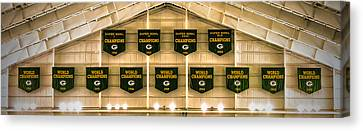 Championship Banners Canvas Print by James  Meyer