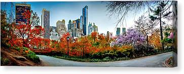 Changing Of The Seasons Canvas Print by Az Jackson